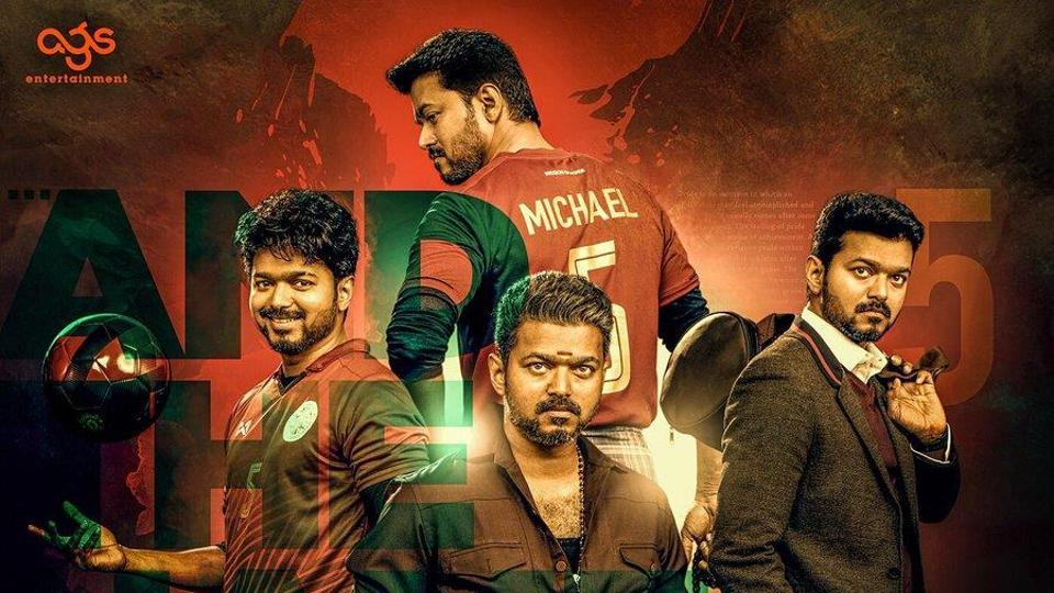 Vijay plays a double role in his upcoming movie, Bigil.