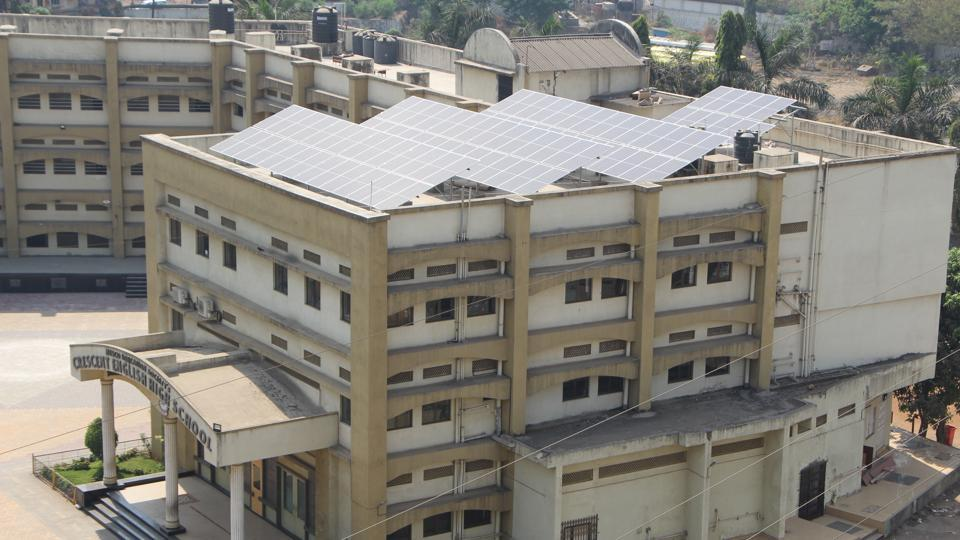 70% of the school's electricity requirements will be met through the rooftop solar plant.