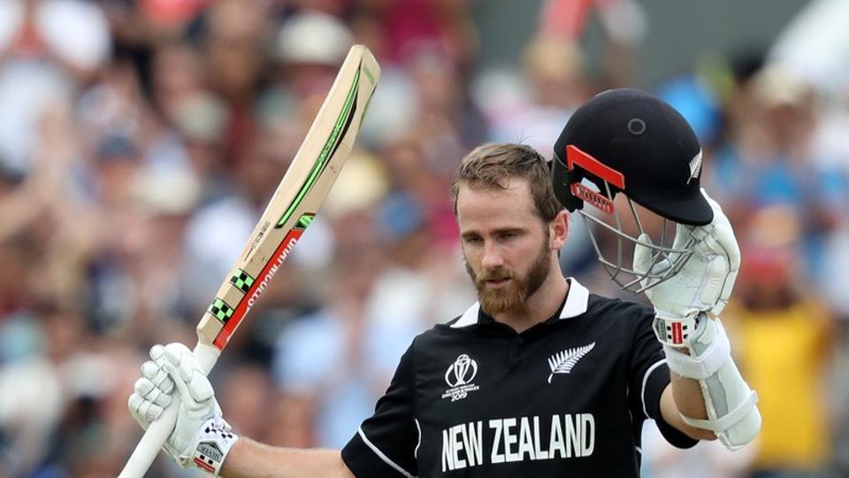 New Zealand's Kane Williamson celebrates reaching his century  (Action Images via Reuters)