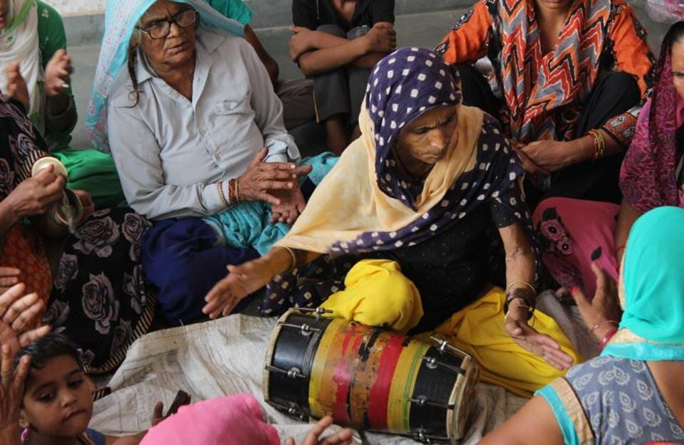 Preserving folk music heritage of a western UP village