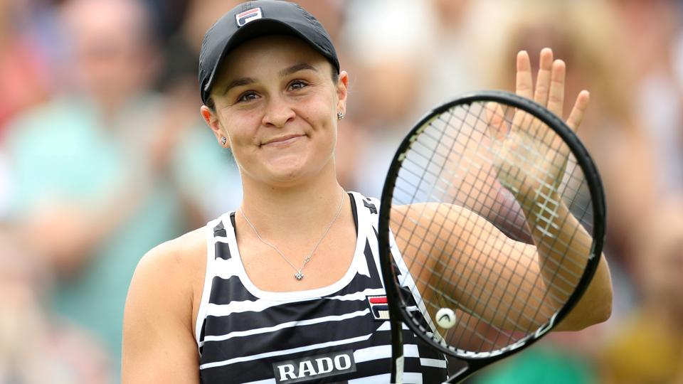 Ashleigh Barty withdraws from Eastbourne with arm injury