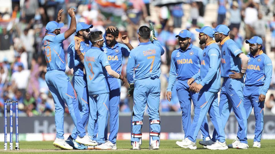 File image of Indian cricket team