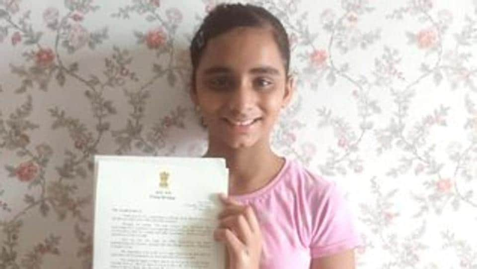 The news of PM Modi writing back to the 11-year old girl was shared by her father on Twitter.