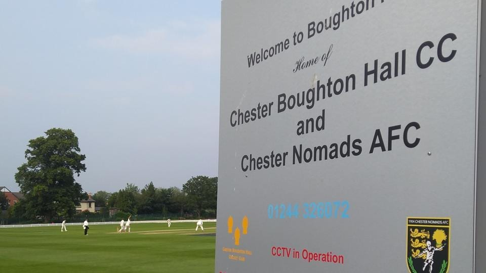 Cheshire versus Wiltshire, a fixture in England's Minor Counties Championships.