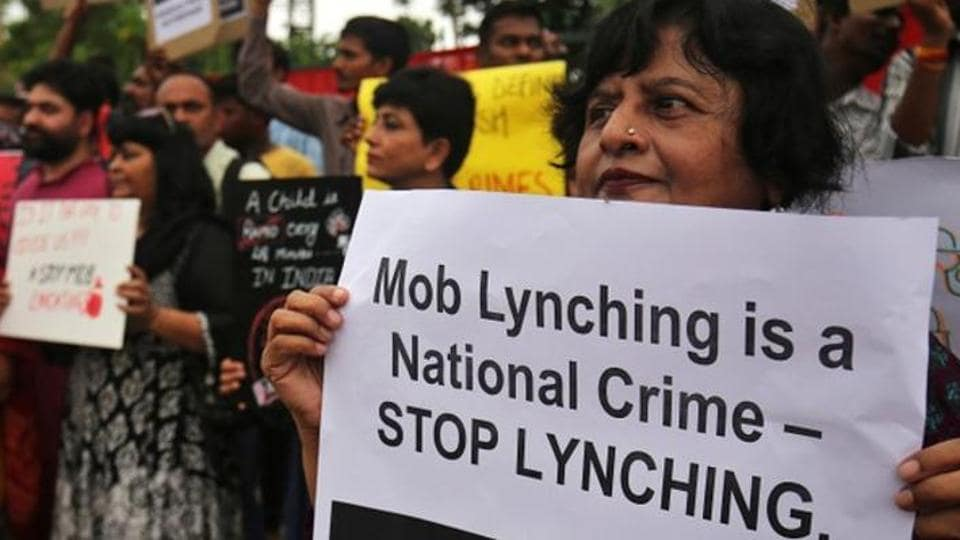 The OCs have been suspended for their failure to report the incident to higher officials in time and lodge FIR of lynching on the day of the incident itself, senior police officers said.
