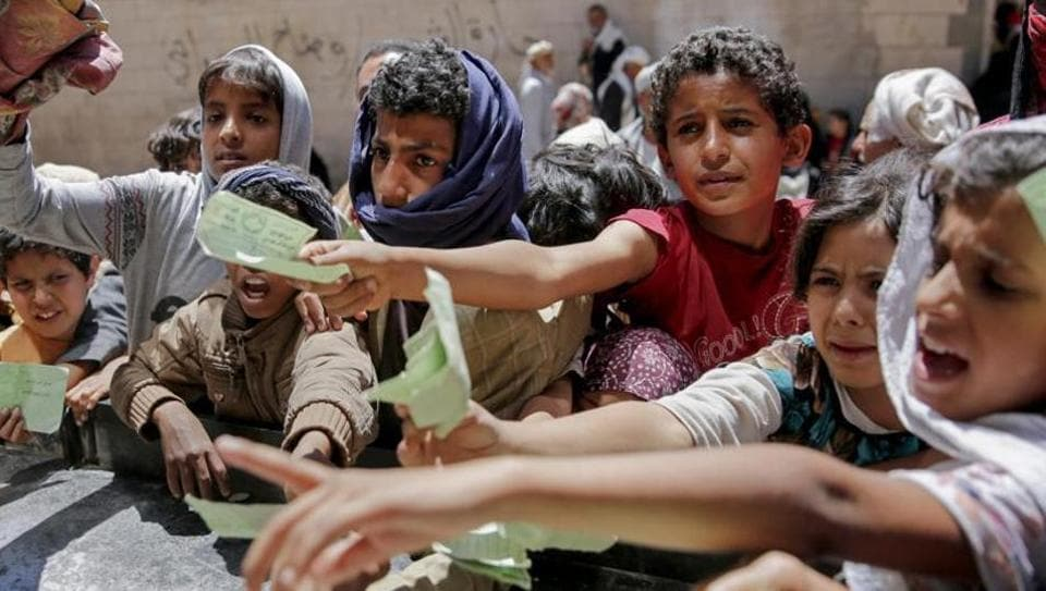 Yemen's rebels last month turned back a World Food Program shipment meant to feed some 100,000 families in the war-torn nation that's been pushed to the brink of starvation, a spokesperson said.