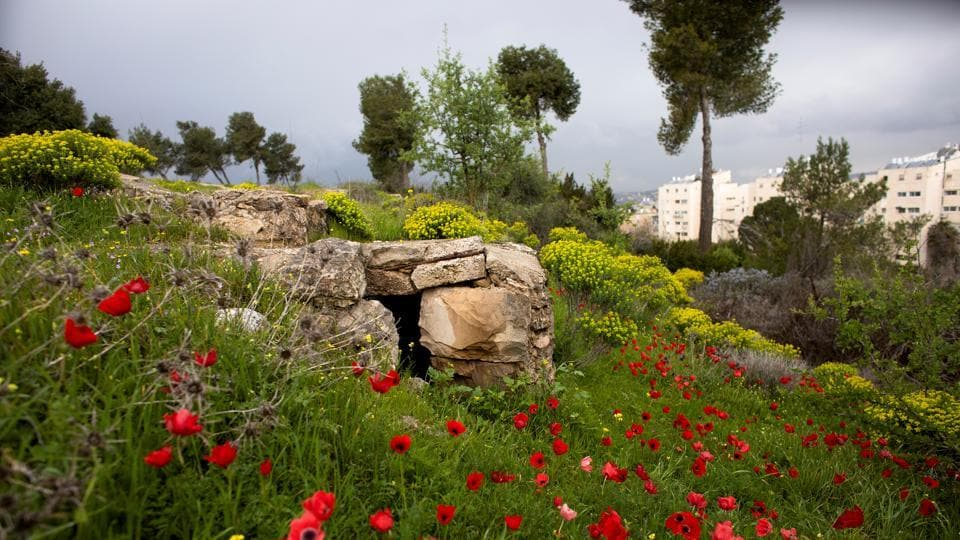 A part of the trench is seen in a former Jordanian military post known as Ammunition Hill in Jerusalem. Originally built by the British, the site was captured by Jordan in the 1948-1949 war and held by them until Israeli troops captured it in the 1967 Six Day War. Ancient ruins and medieval castles bear witness to the fact that conflict between the peoples of the Levant is nothing new. (Ronen Zvulun / REUTERS)