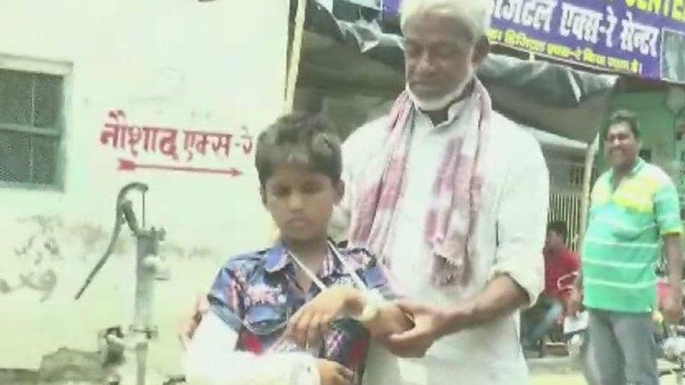 Bihar health care,fracture,Faijan