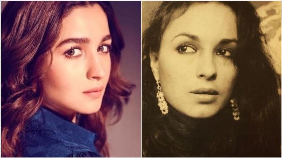 Alia Bhatt looks just like her mother Soni Razdan.