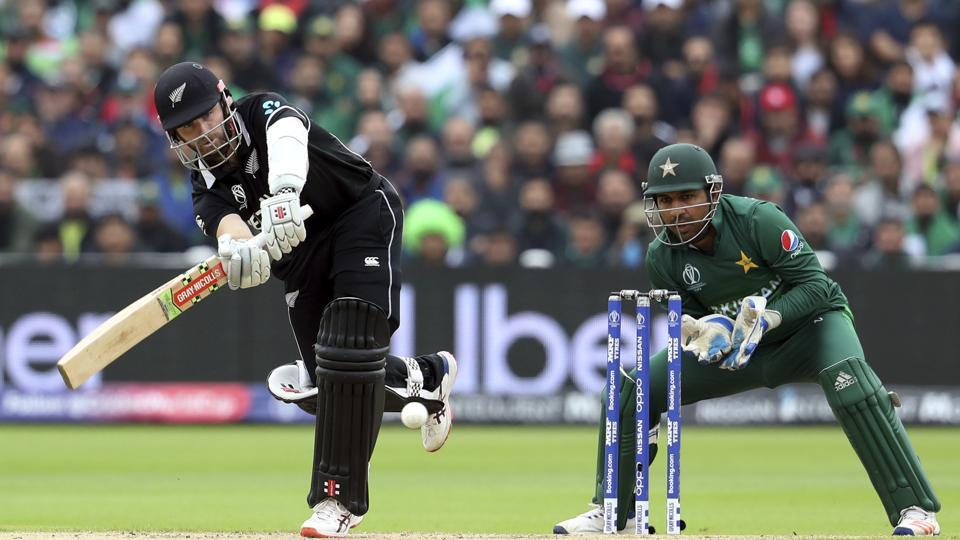 New Zealand captain Kane Williamson in action against Pakistan during the ICC World Cup.