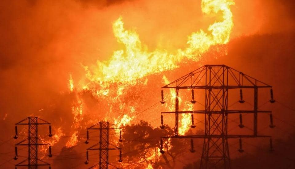 Wildfires in California,Floods,Climate change