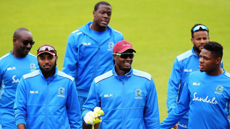 India vs West Indies: Jason Holder and team