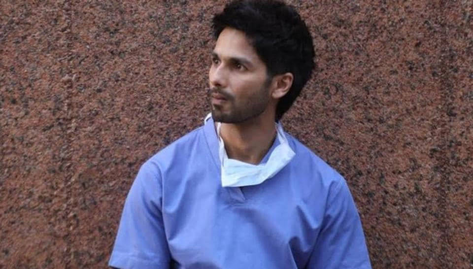 Shahid Kapoor in a still from Kabir Singh.