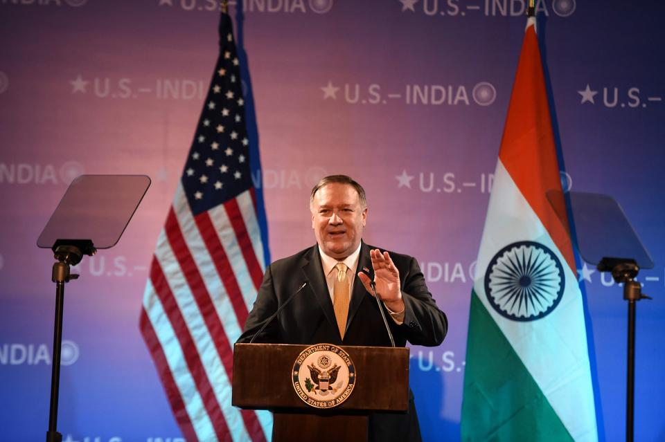 US Secretary of State Michael Pompeo. (Photo by Money SHARMA / AFP)