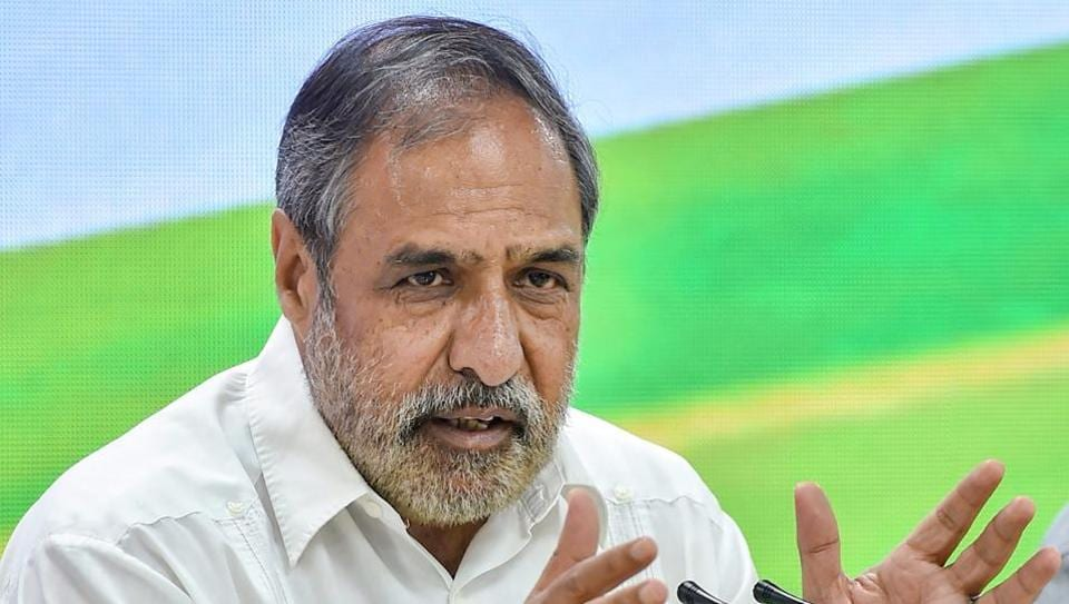 """Senior Congress leader Anand Sharma claimed the ruling Bharatiya Janata Party had made a """"fundamental departure"""" from tradition by conducting business even when sitting member Madanlal Saini passed away."""