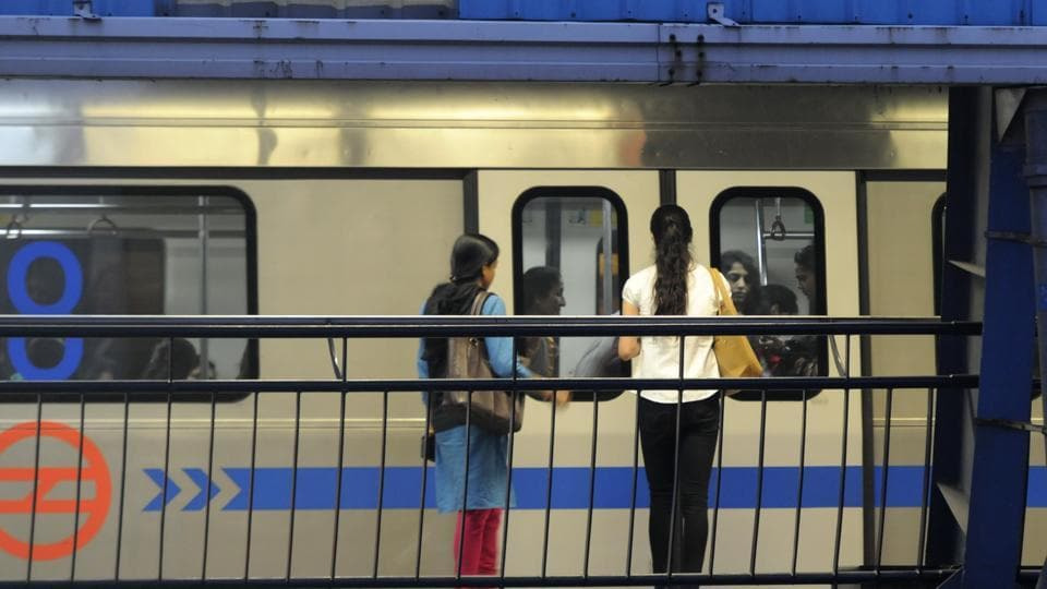 The Centre and the state government are equal shareholders in DMRC. (Photo by Sonu Mehta/ Hindustan Times)