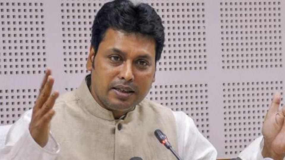 Tripura CM Biplab Kumar Deb said most crimes against women are related to drug abuse and such incidents have declined.