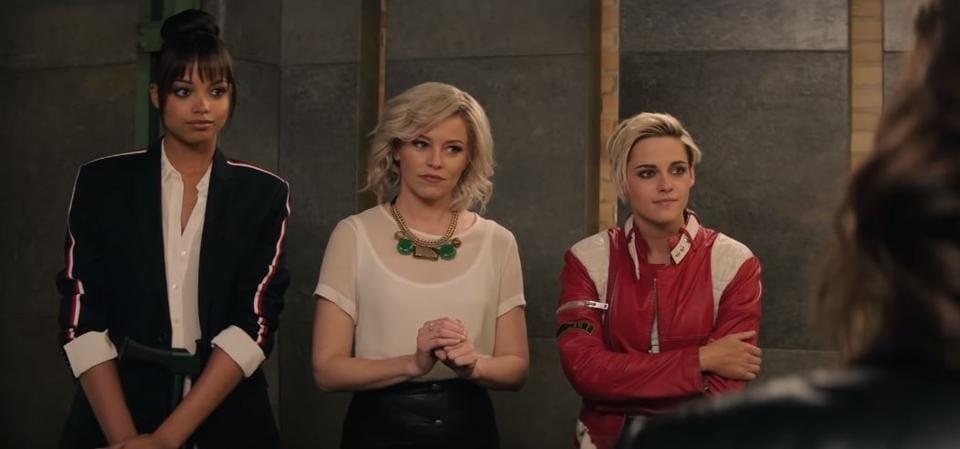Kristen Stewart and Elizabeth Banks in a still from Charlies Angels trailer.