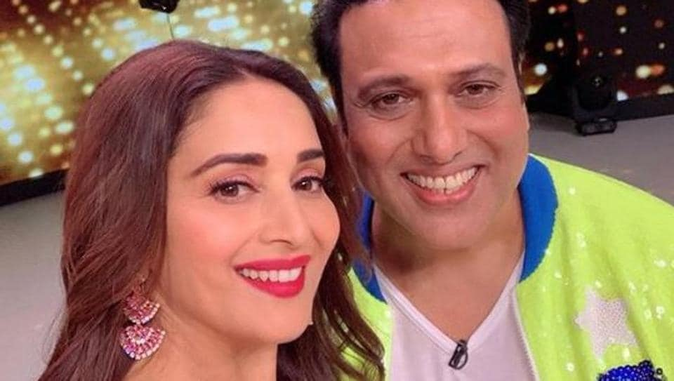 Govinda was the celebrity guest onDance Deewane in which Madhuri Dixit is one of judges.