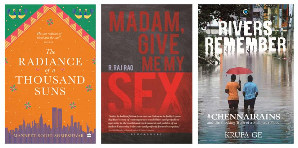 This week's reads include a  novel about home and love and history, a satire set in an Indian university in a town known as the Oxford of the East, and a book on the Chennai floods.