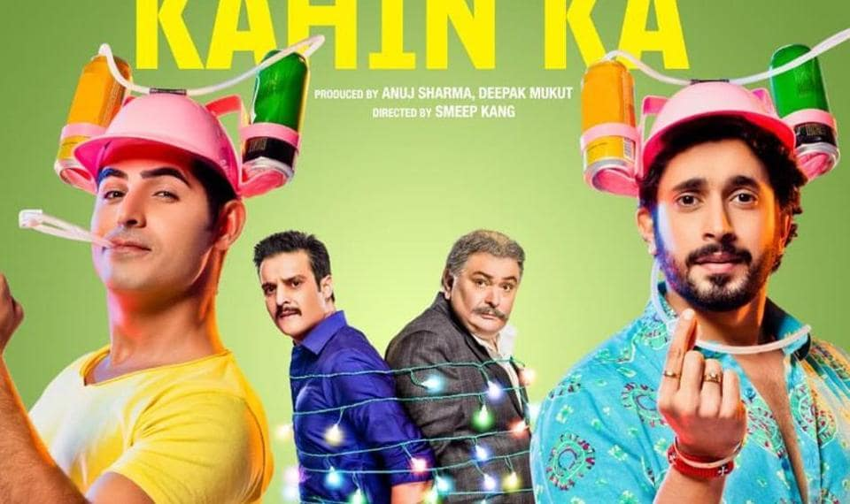 The first poster of Jhootha Kahin Ka is out and fans are excited to see Rishi Kapoor on it.