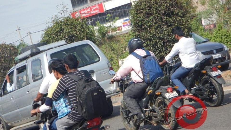 The bike rider claimed he was fined incorrectly.