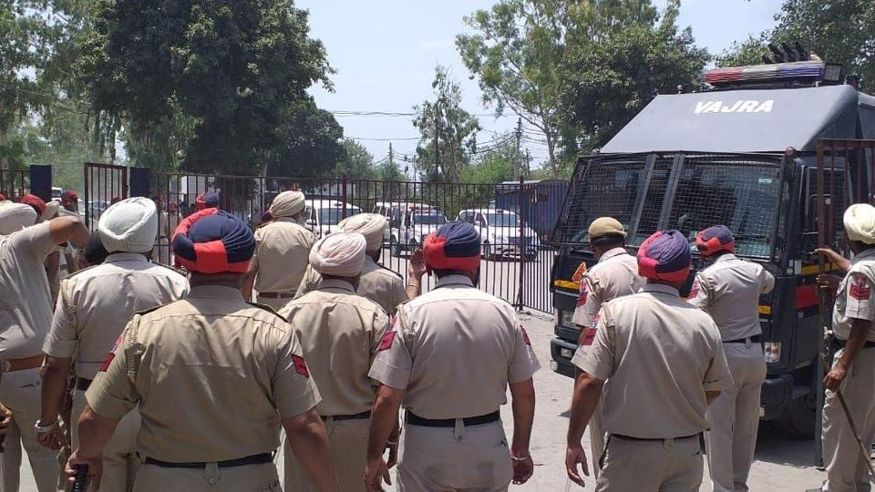 The protest intensified when jail staff tried to disperse the inmates following which heavy police force was deployed.