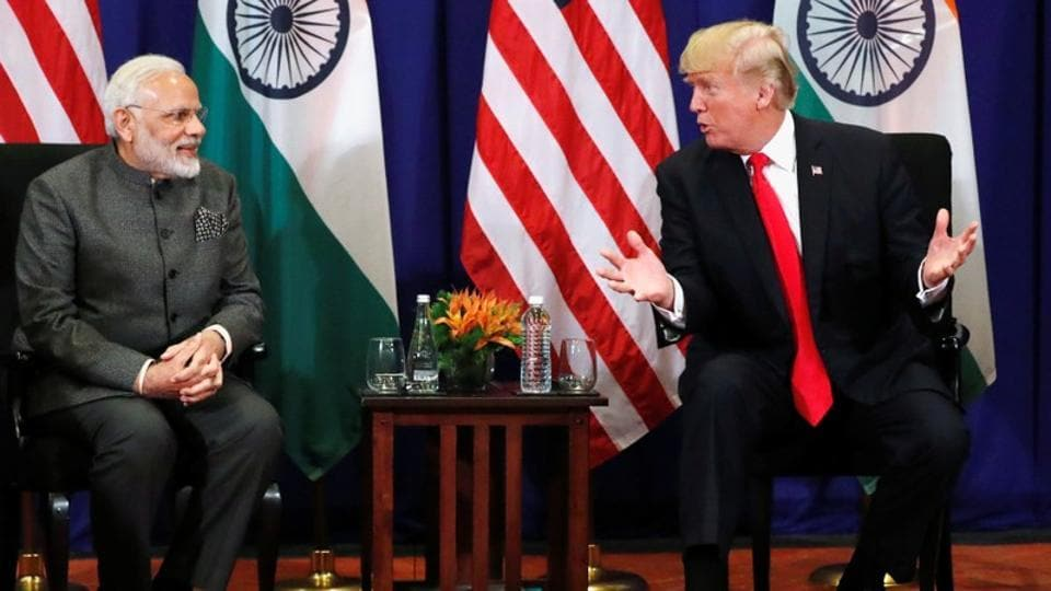U.S. President Donald Trump looks forward to speaking with Indian Prime Minister Narendra Modi about a recent increase in its already high tariffs against the United States