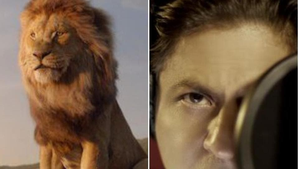 Shah Rukh Khan voices Mufasa in the Hindi version of Disney's The Lion  King.