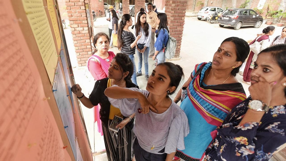 Experts say that students should choose course over college as admissions to Delhi University began on June 28, 2019, with the release of first cut-off list.