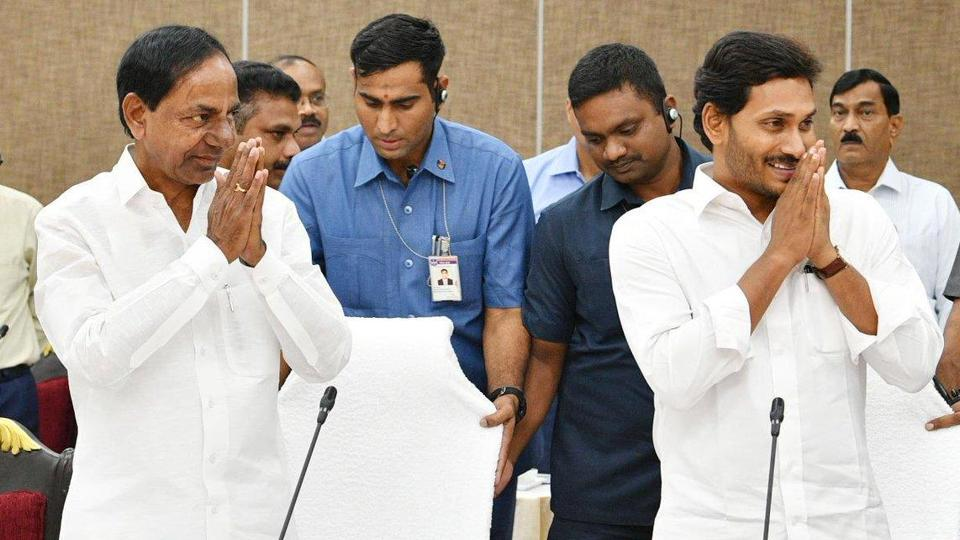 Andhra Pradesh chief minister Y S Jagan Mohan Reddy had a five-hour long meeting with his Telangana counterpart K Chandrasekhar Rao at the latter's camp office in Hyderabad on Friday.