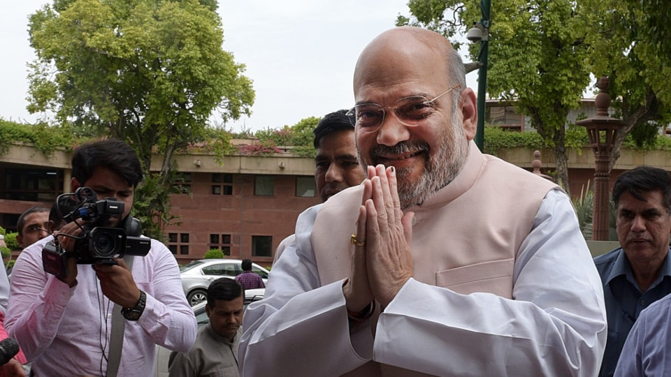 Home minister Amit Shah stressed that Centre was not against the residents of the J&K but only against those seeking to divide the country.