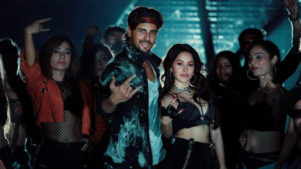 Nushrat Bharucha and Sidharth Malhotra in a song from Marjaavan.