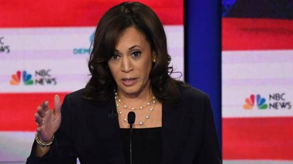 Democratic presidential hopeful US Senator for California Kamala Harris, whose father is black and mother Indian, went on to say she was among those who was bused, the practice of transporting students to schools outside their residential districts to end racial segregation in the 1970s and 80s.