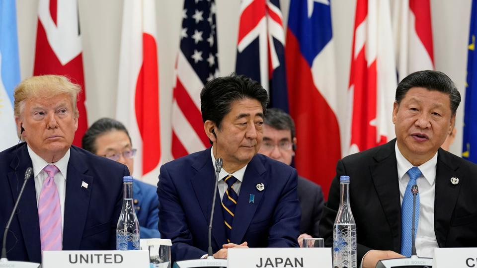 US President Donald Trump made clear on Friday that trade was a top priority at a summit of leaders of Group of 20 nations, as Chinese leader Xi Jinping warned against rising protectionism.