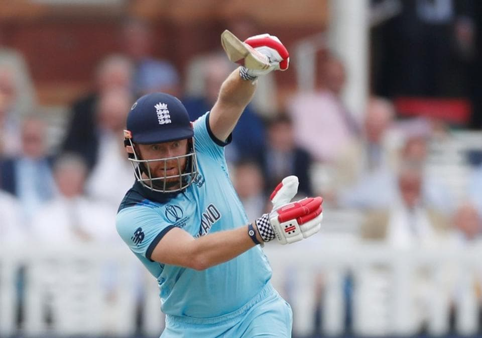 England's Jonny Bairstow in action.