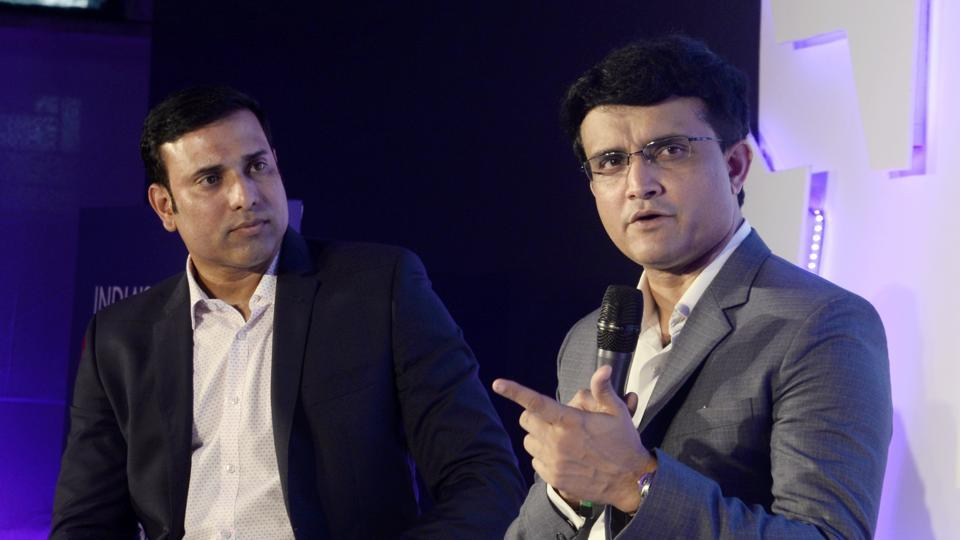 Former India cricketers Sourav Ganguly and VVS Laxman were divided while talking about MS Dhoni's slow batting in the World Cup