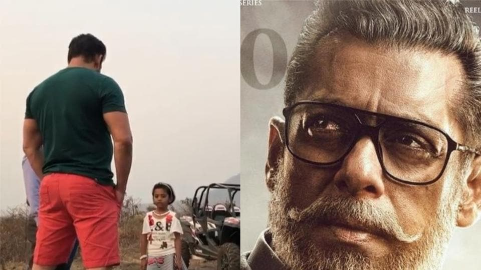 Salman Khan has shared a video where a young girl praises India and