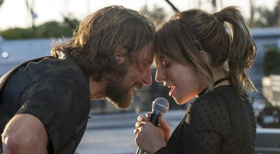 A Star Is Born starred BradleyCooper and Lady Gaga in lead roles.