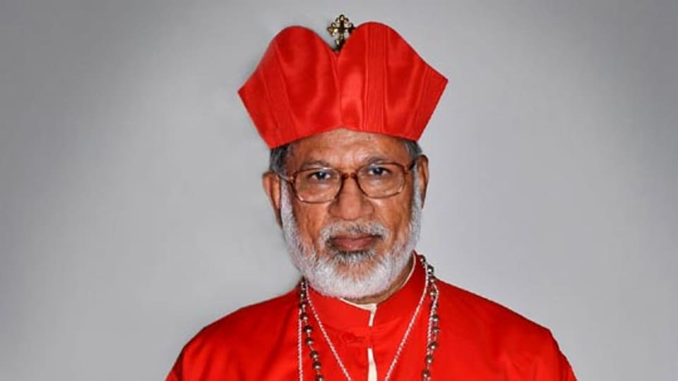 Cardinal Mar George Alancherry was removed from the post last year after a section of believers and priests alleged that he had sold a prime land owned by the church in Kochi.