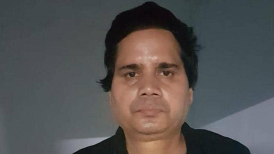 Rammani Pandey of Allahabad was produced before the district and sessions court on Friday and was remanded to police custody for three days