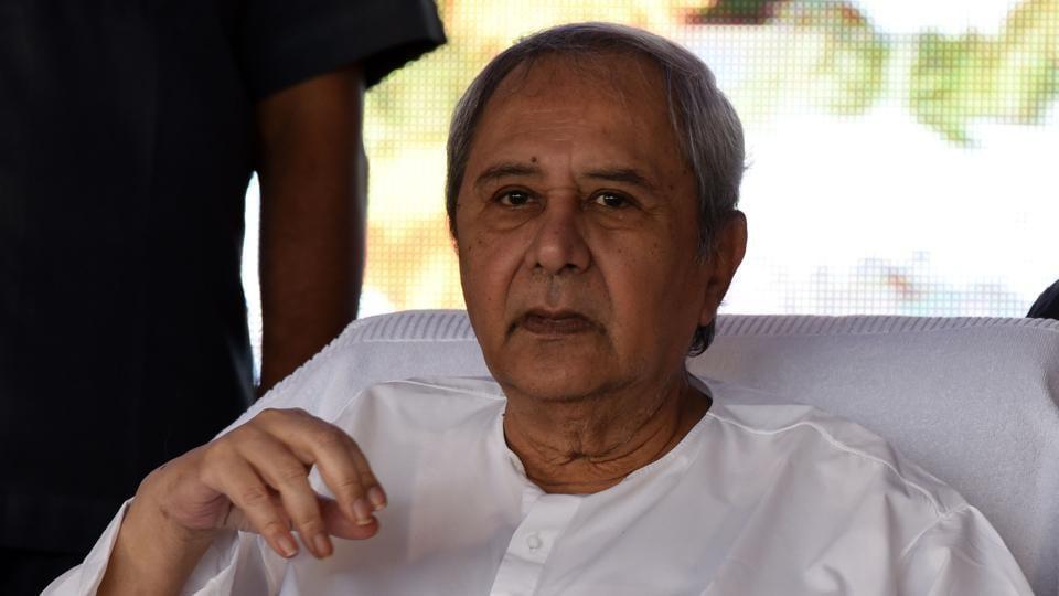 Odisha Chief Minister Naveen Patnaik. (Photo by Arabinda Mahapatra / Hindustan Times)