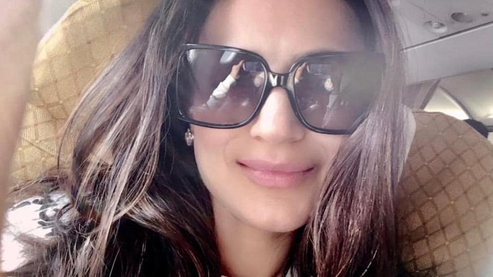 Ameesha Patel has been sharing pictures on social media but no comment on the case has been shared.