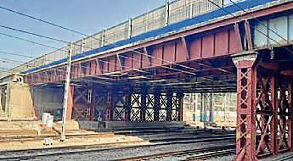The bridge was reopened in June.