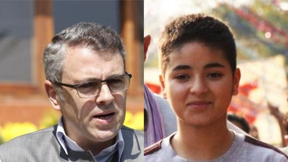 Zaira Wasim found support in former Jammu and Kashmir chief minister Omar Abdullah after she announced her exit from Bollywood.