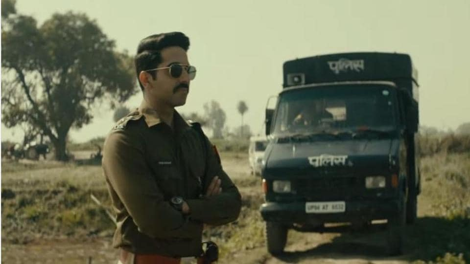 Ayushmann Khurrana delivers one of the strongest performances of his career so far as police officer, Ayan Ranjan.