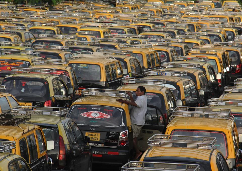Decades ago, the city had 63,000 black-and-yellow taxis.