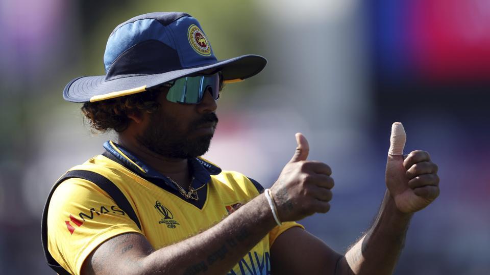 Sri Lanka's bowler Lasith Malinga