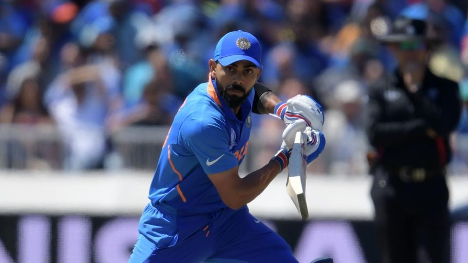 India's captain Virat Kohli has the chance of becoming the only captain to score five fifty+ scores in Word Cup.
