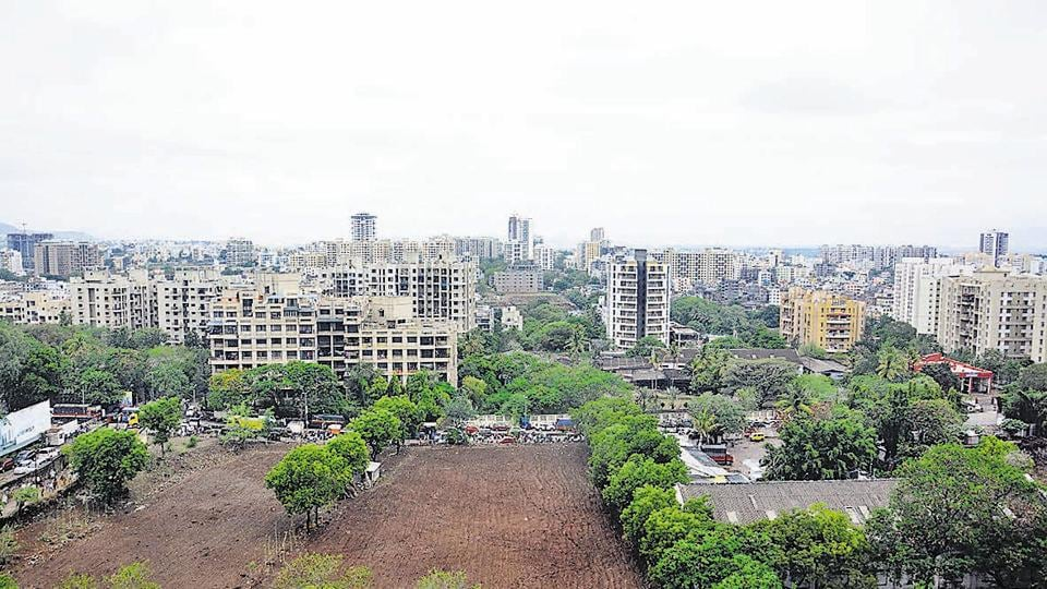 A view of Kondhwa from Alcon stylus. Kondhwa, which is located on the south-eastern part of the city, has seen rampant construction in the past few years. Builders have bought land here given the cheap rates. However, the civic body has not been able to keep a strict vigil on the illegal constructions in the area.